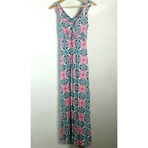 Boden Dress US 6R Multicolor Maxi Sleeveless
